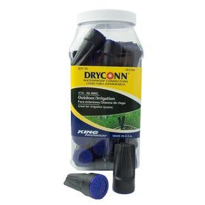 VOLT® DryConn Black and Blue Waterproof Connectors (Large) | Choose 2pk, 12pk, or 50pk