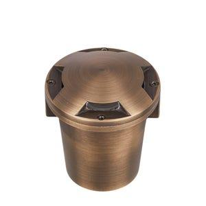 VOLT® Salty Dog MR11 Turret Top Brass In-Grade Light (Bronze)