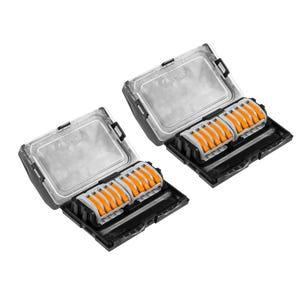 VOLT® Pro Macro-Junction Direct Burial Connector 8-Way | 2 Pack
