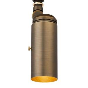 VOLT® All-Star brass tommy light illuminated.