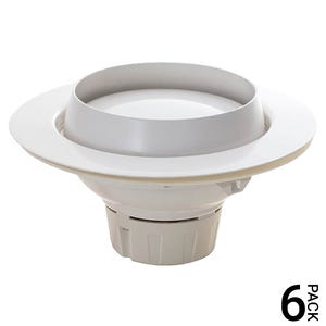 VOLT® 19W Adjustable Recessed LED Downlight (120W Halogen Replacement) - 6 Pack