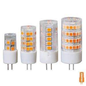 VOLT® G4 LED Bi-Pin Color Bulb (Candle Light Orange)