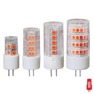 VOLT® G4 LED Bi-Pin Color Bulb (Rich Red)