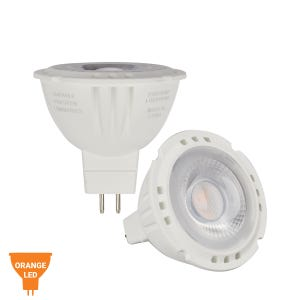 VOLT® 6W Multi Source LED MR16 Color Bulb (Candle Light Orange)
