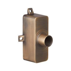 VOLT® Ultra-Slim Brass Hub Mount (Bronze)