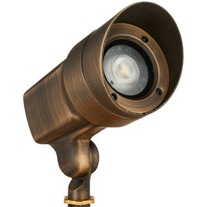 VOLT® 120V 12W Brass LED Spotlight with Knuckle (Bronze)