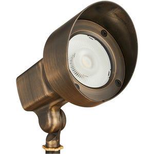 VOLT® 120V 18W Brass LED Spotlight with Knuckle (Bronze)