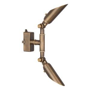VOLT® Tri-Hub Ultra-Slim Brass Up/Down Light (Bronze)