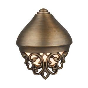 VOLT® Florentine decorative brass deck light.