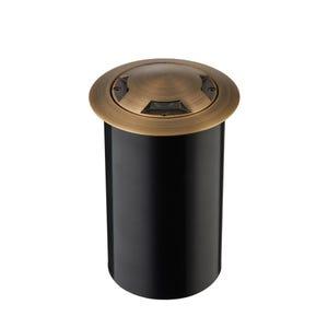 VOLT® Salty Dog MR11 Turret Top Brass Well Light (Bronze)