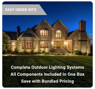 landscape lighting kits volt lighting